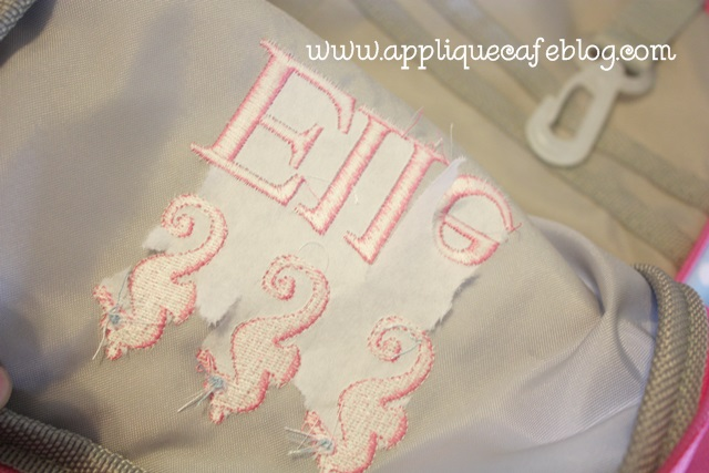Fast Frames and Backpacks! | Applique Cafe Blog