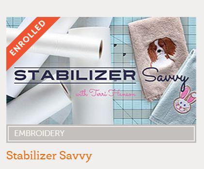 stabilizer savvy
